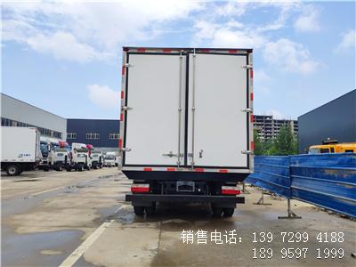 程力国六4米2东风多利卡肉钩冷藏车厂家报价