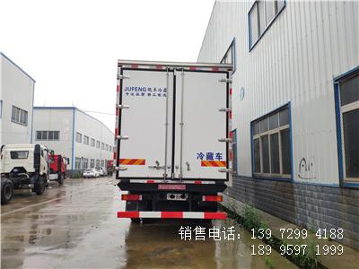 国六6米8东风天锦KR海鲜冷藏车厂家报价参数