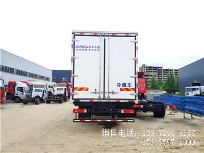 程力国六6米8福田欧马可S5肉钩冷藏车厂家报价