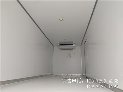 程力国六6米8东风天锦KR肉钩冷藏车厂家价格图片