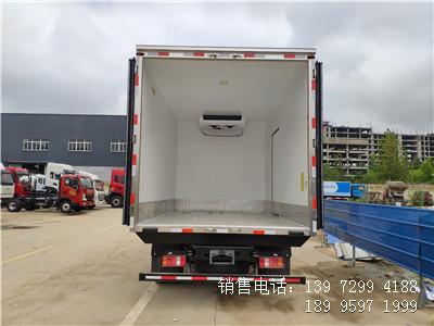 程力国六蓝牌4米2重汽海鲜冷藏车厂家价格直销
