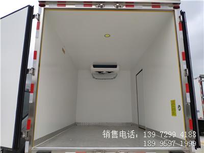程力国六4米2福田欧马可S3海鲜冷藏车厂家价格图片