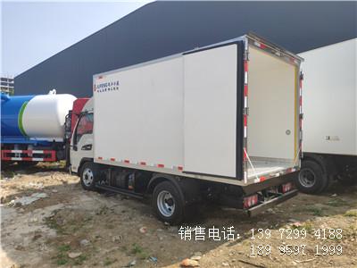 程力3米7江淮新康铃J3海鲜冷藏车蔬菜冷藏车厂家报价配置