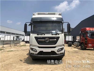 程力国六6米8东风天锦KR拉肉冷藏车厂家配置图片