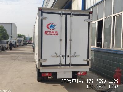 程力国六3米2跃进后双轮医疗药品冷藏车厂家价格