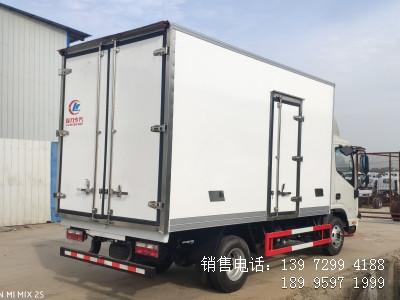 程力蓝牌国六3米2五十铃双排座冷藏车生产厂家电话报价