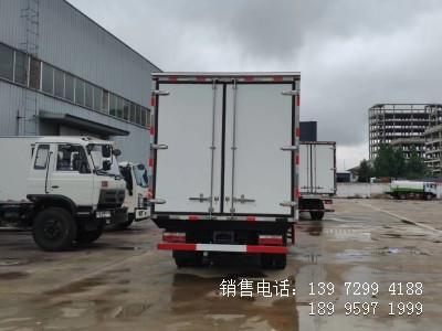 程力国六蓝牌4米2江淮骏铃V5猪肉冷藏车厂家价格参数