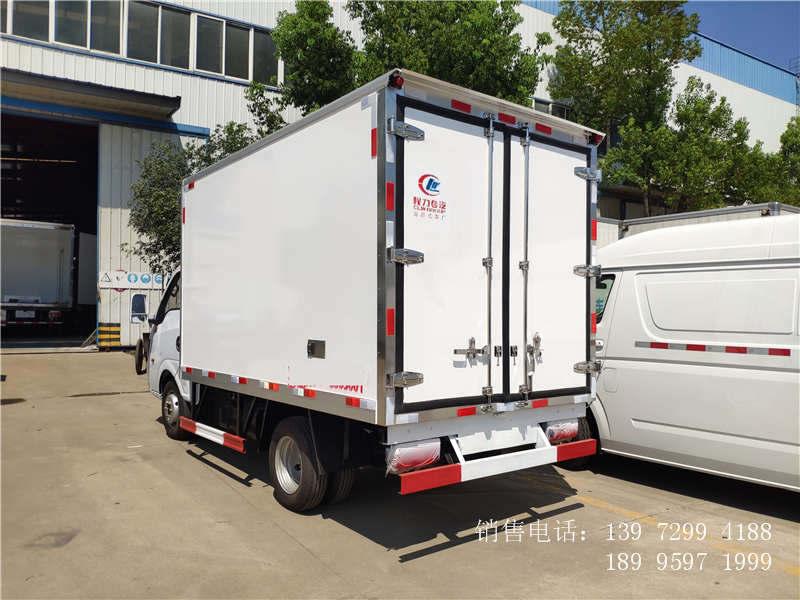 程力国六东风途逸冷藏车-东风冷藏车厂家-东风途逸冷藏车价格
