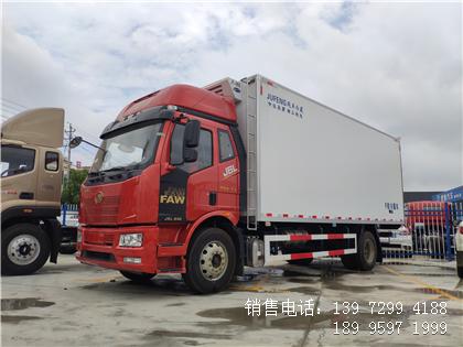 程力国六解放冷藏车图片-6米8解放J6L冷藏车价格-解放J6L冷藏车厂家