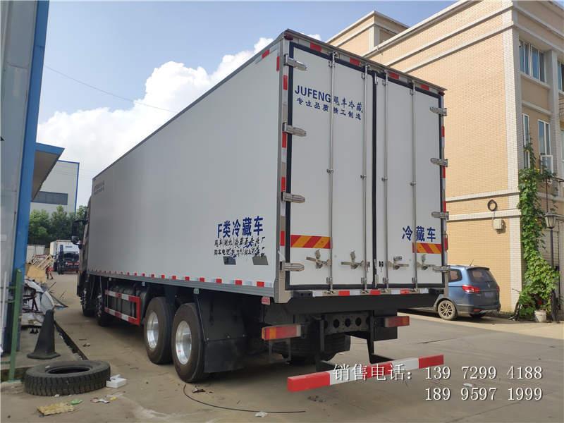 东风天龙9.6米肉钩冷藏车-东风天龙9.6米肉钩冷藏车价格-东风天龙9.6米肉钩冷藏车厂家