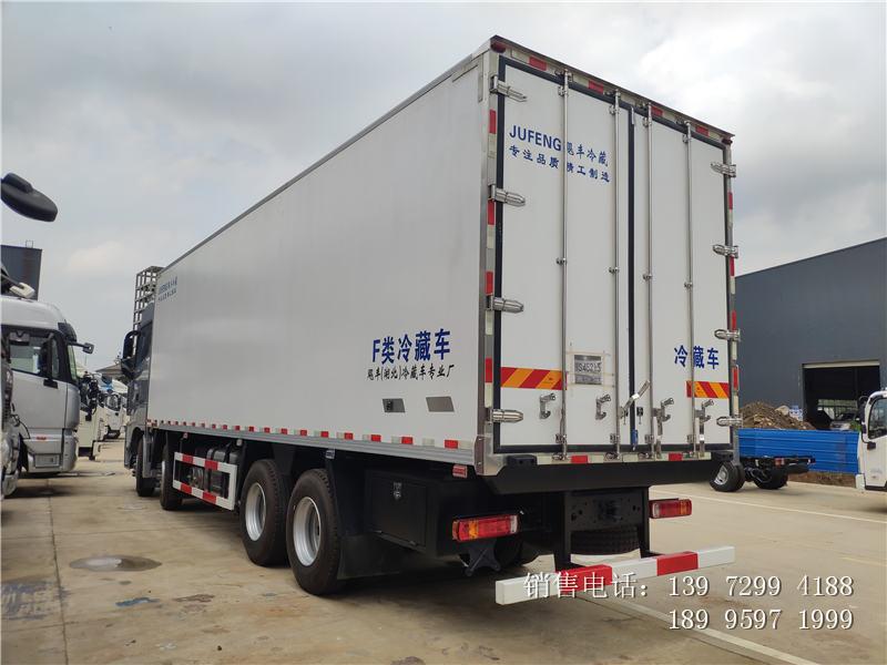 9.6米福田欧曼EST冷藏车价格-9.6米福田欧曼EST冷藏车厂家