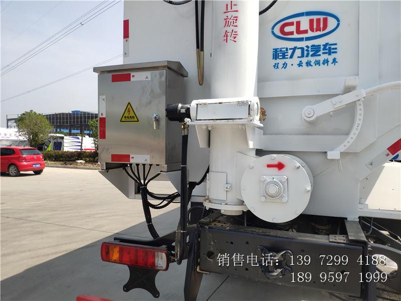 22吨福田欧曼散装饲料车价格-22吨福田欧曼散装饲料车厂家