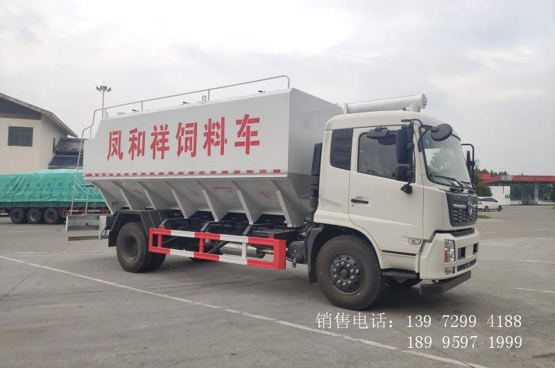 10吨东风天锦饲料车报价大全厂家
