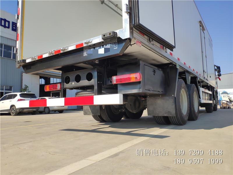 9.6米解放J6P冷藏车报价参数-9.6米解放J6P冷藏车厂家图片