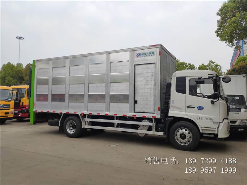 东风天锦铝合金运猪车价格-东风天锦铝合金运猪车厂家