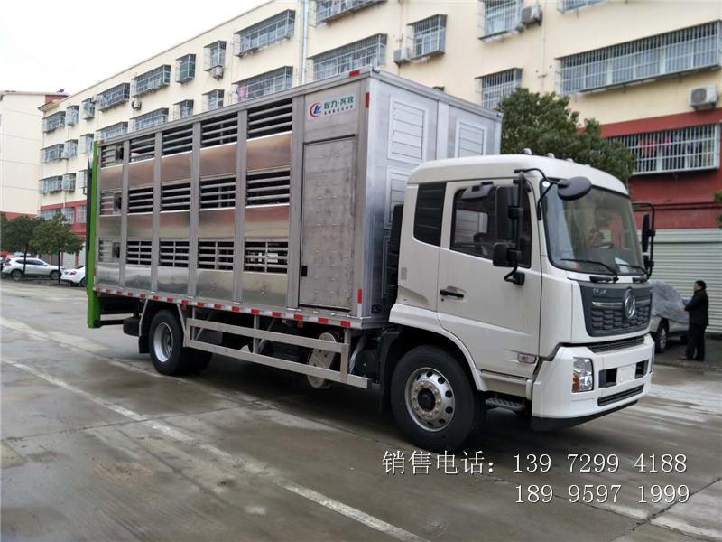 畜禽运输车工艺构造