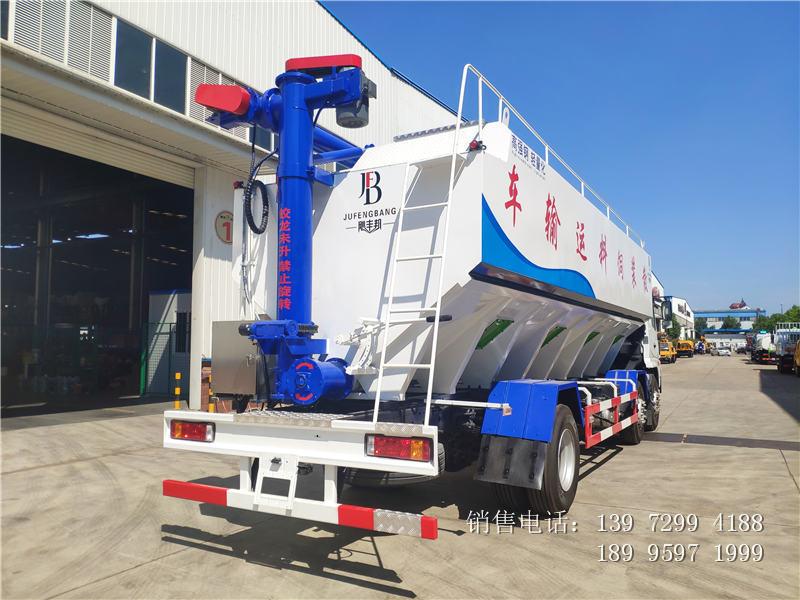 15吨散装饲料车价格-15吨散装饲料车图片-15吨散装饲料车厂家