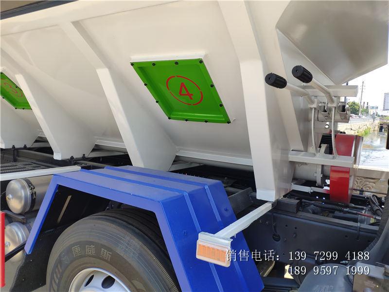 34方小三轴散装饲料运输车厂家-34方小三轴散装饲料运输车价格