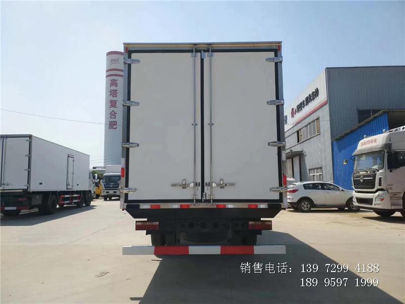 6.8米江淮格尔发冷藏车厂家报价-江淮格尔发6米8冷藏车图片配置