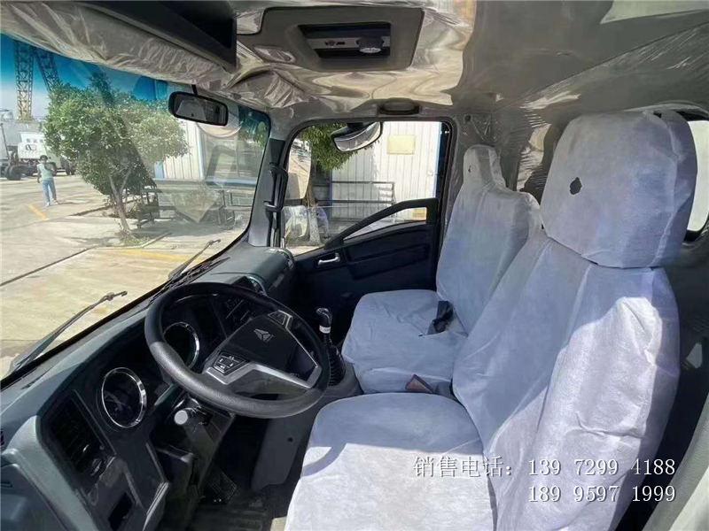 4.2米重汽豪沃肉钩冷藏车厂家-重汽豪沃4米2肉钩冷藏车价格