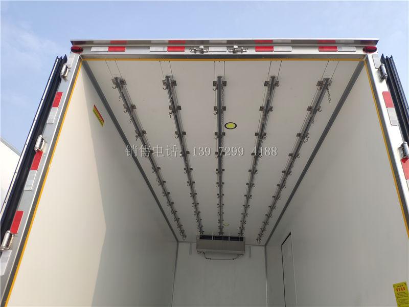 新型冷藏车隔热材料和洗结构的研究研发