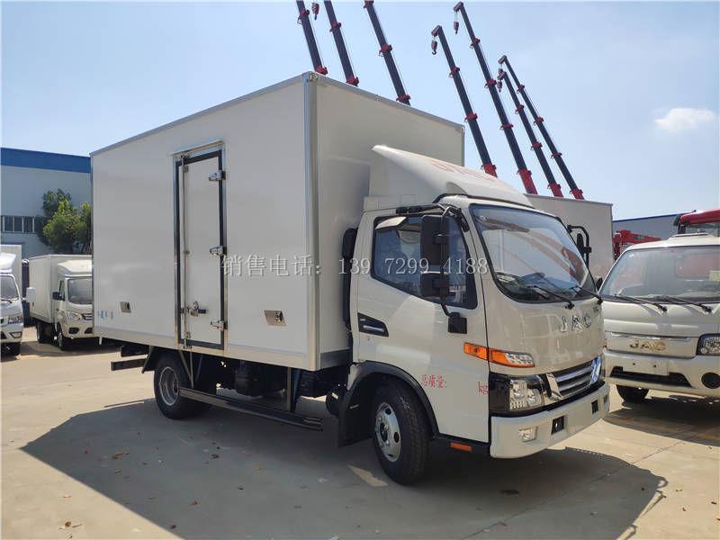 4米2江淮冷藏车制冷控制面板应该怎样操作?