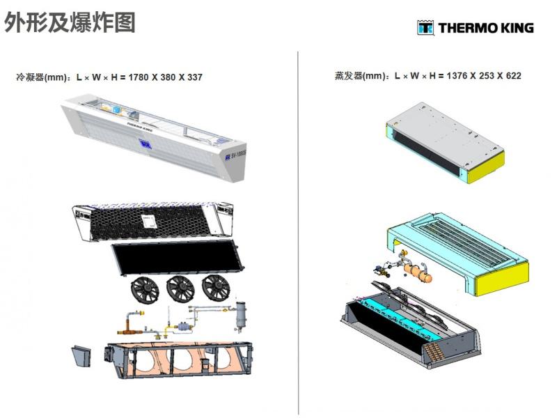 美国冷王SV1080S型冷藏车制冷机组价格图片